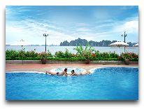 отель Tuan Chau Resort Hotel: Бассейн