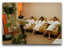 санаторий Tulpe: Комнта отдыха в лечебнице