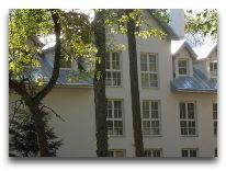 санаторий Tulpe: Фасад корпуса Белая вилла