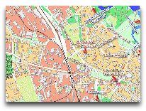отель У фонтана: Карта