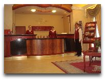 отель Baltic Hotel Vana Wiru: Ресепшен