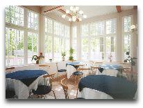 отель Veju Roze: Кафе