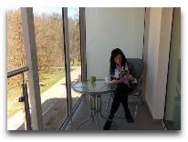 санаторий Verano: Балкон в апартаментах