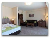 санаторий Verano: Однокомнатные апартаменты с угловым балконом