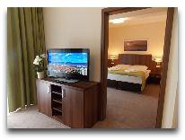 санаторий Verano: Спальня в двухкомнатных апартаментах