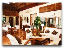 отель Victoria Phan Thiet Resort & Spa: Pool villa - гостиная