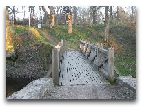 отель Vihula Manor Country Club & Spa: Мост через реку