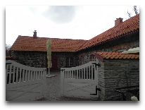 отель Vihula Manor Country Club & Spa: Летнее кафе у бассейна