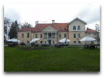 отель Vihula Manor Country Club & Spa: Летнее кафе у главного здания