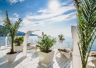 отель Вилла Елена: Вид на море