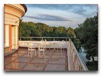 отель Вилла «Гламур»: Терраса отеля
