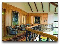 отель Villa Mary: Балкон над рестораном