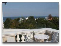 отель Вилла Неаполь: Терраса