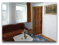 отель Villa Saulute: Гостиная апартаменты No.2