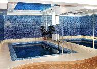 отель Вилла Венеция: Закрытый бассейн