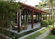 отель Vinh Hung Emerald Resort Hotel: Территория отеля