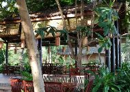 отель Vinh Suong Seaside Resort: Ресторан в саду