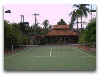 отель Vinh Suong Seaside Resort: Теннисный корт