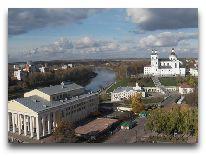 отель Туристско-гостиничный комплекс Витебск Отель: Вид из Апартаментов