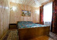 отель Высокий Берег: Коттедж спальня