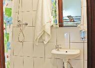 отель Warsaw Downtown Hostel: Ванная комната в двухместном номере