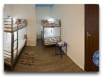 отель Warsaw Downtown Hostel: Четырехместный номер