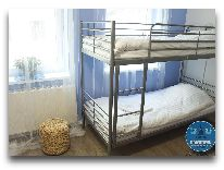отель Warsaw Downtown Hostel: Четырехместный номер для женщин