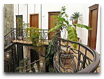 отель Willa Mtiyebi: Вид со второго этажа