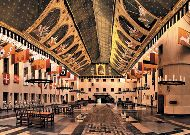отель Zamek Ryn: Крытый двор