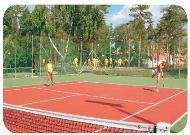 дом отдыха Зарен: Теннис