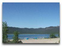 санаторий Зеленый бор: Пляж