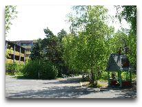 санаторий Зеленый бор: Территория