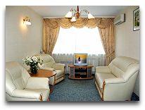 отель Zemaites: Гостиная в номере Family