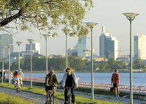 Эстония: общая информация, фото: Набережная в Пирита