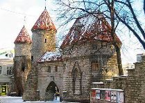 Эстония: общая информация, фото: Зимний Таллинн