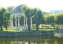 Эстония: общая информация, фото: Пруд в парке Кадриорг