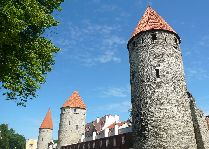 Эстония: общая информация, фото: Башни Таллинна.