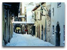 Эстония: общая информация, фото: Переулок Катарины зимой