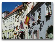 Эстония: общая информация, фото: Фасад отеля Шлессле..
