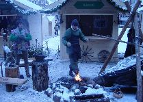 Латвия: информация для туристов, фото: Рождественский городок ремесленников