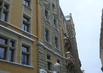 Латвия: информация для туристов, фото: Улицы Риги зимой