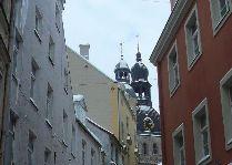 Латвия: информация для туристов, фото: Страрая Рига Зимой