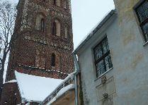 Латвия: информация для туристов, фото: Старая Рига зимой