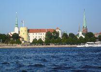Латвия: информация для туристов, фото: Морская панорама Риги