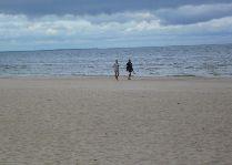Латвия: информация для туристов, фото: Пляж Юрмалы в Майори