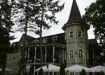 Латвия: информация для туристов, фото: Фасад ресторана Юрмалы