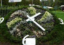Латвия: информация для туристов, фото: Цветочные Часы