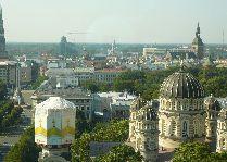 Латвия: информация для туристов, фото: Панорама Риги