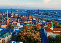Латвия: информация для туристов, фото: Рига, вид на город