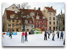 Латвия: информация для туристов, фото: Каток на улице Кальтю